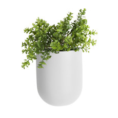 Present Time Wall plant pot oval