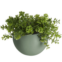 Present Time Wall plant pot globe